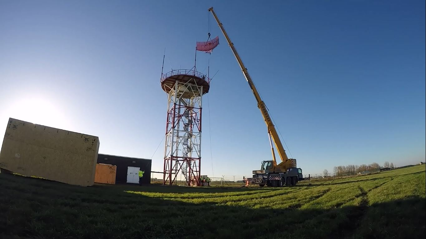 Video: skeyes replaces primary radar at Ostend Airport